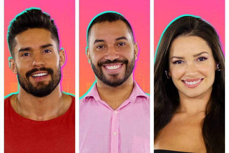 Arcrebiano, Gilberto e Juliette estão no segundo paredão do BBB21