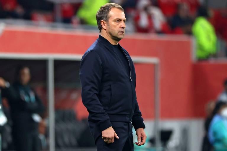 Hansi Flick levou os bávaros ao título da Champions League na última temporada