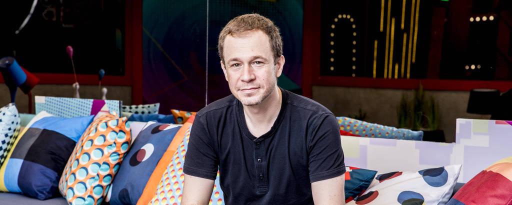 O apresentador e jornalista Tiago Leifert