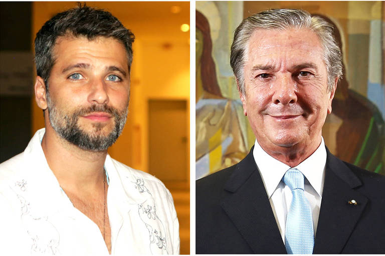 Bruno Gagliasso troca farpas com Collor nas redes sociais: 'Pagador de impostos'