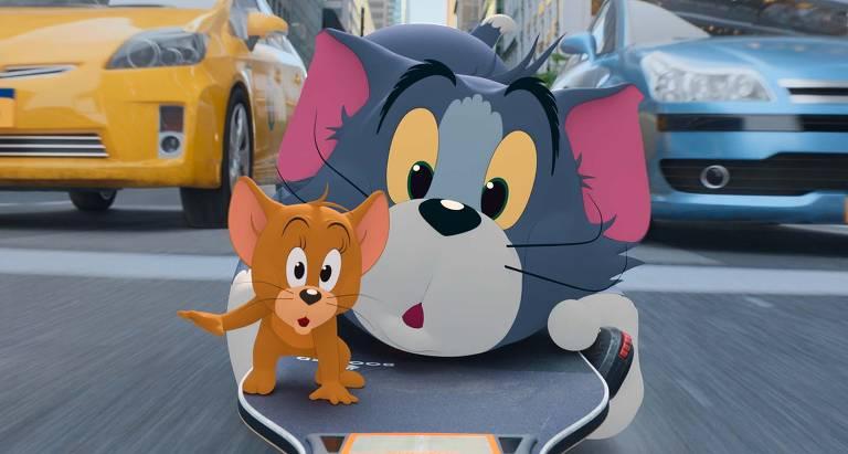 Confira cenas de 'Tom & Jerry - O Filme'