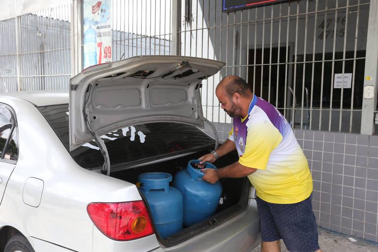 Preço do botijão de gás sobe e chega a R$ 90 em São Paulo