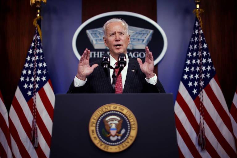 Em primeira conversa com Xi, Biden toca em pontos de divergência com a China