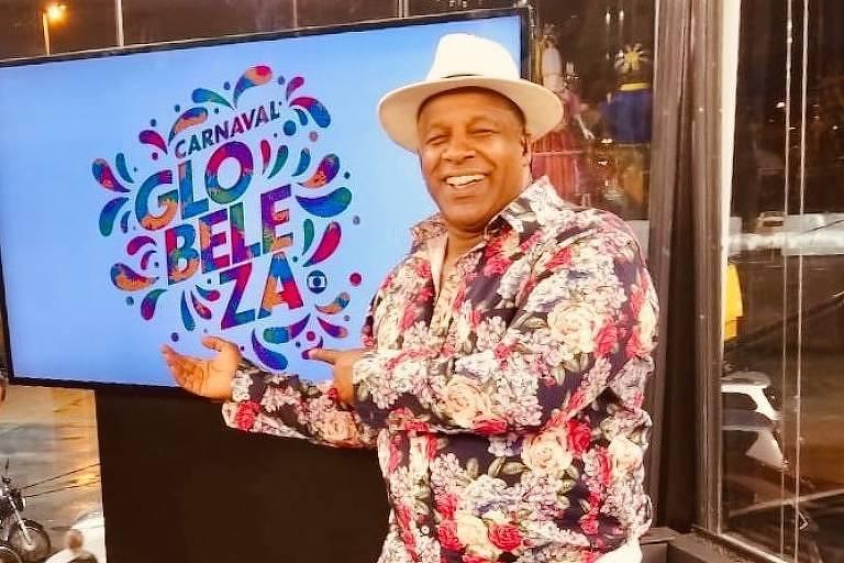 Aílton Graça celebra especial da Globo e diz que 2022 terá o maior Carnaval da história