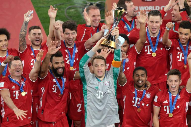 Os campeões mundiais de clubes entre 2005 e 2020