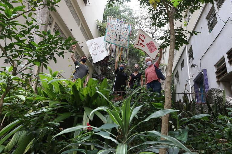 Moradores do Bexiga reclamam de obra em região preservada no centro de SP