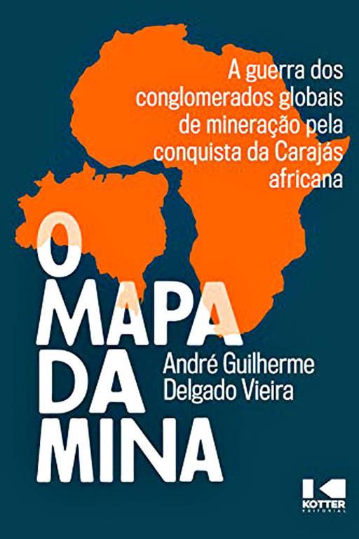 Capa do livro Mapa da Mina, de André Guilherme Vieira