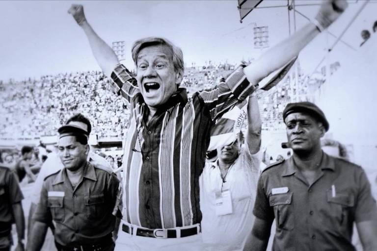 Castor de Andrade em material de divulgação da série 'Doutor Castor'