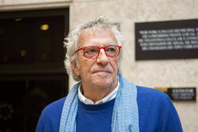 O empresário Paulo Francini durante a Flip de 2014