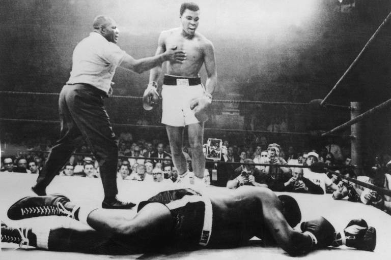 O pugilista Muhammad Ali (1942-2016)