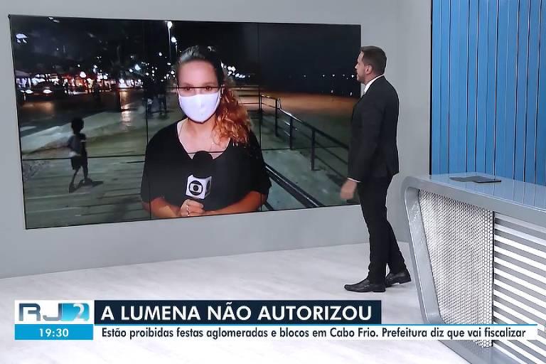 BBB 21: Telejornal usa meme de Lumena para falar sobre Carnaval: 'Não autorizou'