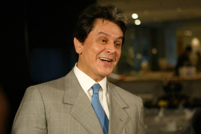 Roberto Jefferson em São Paulo, em 2005