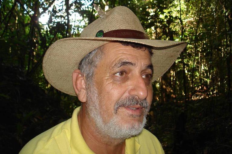 Retrato do veterinário Renato dos Santos