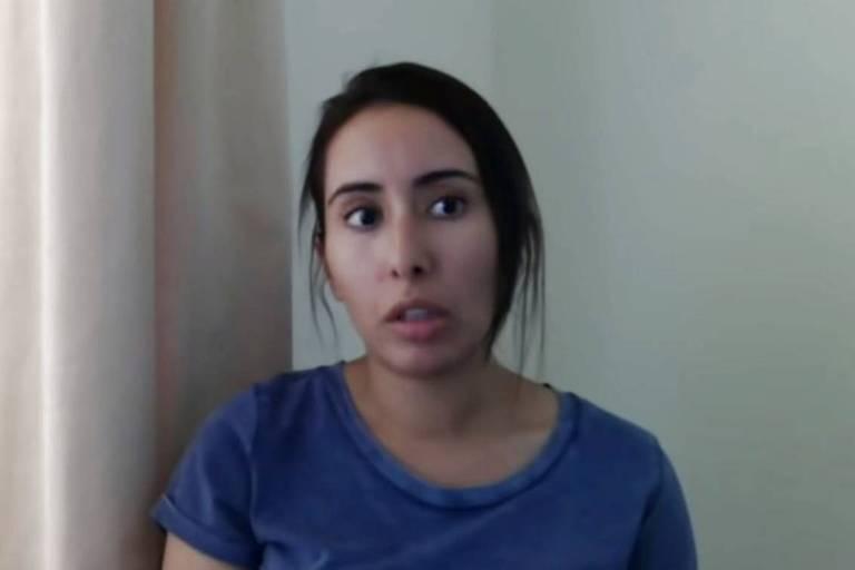 Desaparecida há 3 anos, princesa de Dubai diz que é mantida refém em mansão