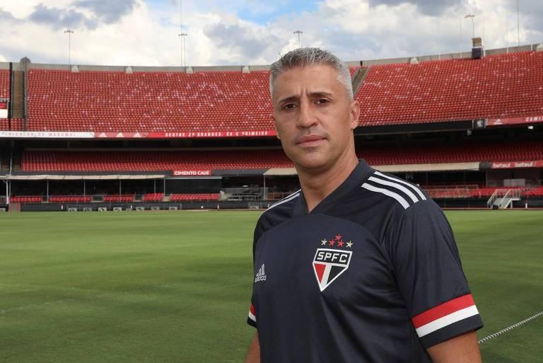 Novo técnico do São Paulo, Hernan Crespo é uma das grandes atrações do Campeonato Paulista