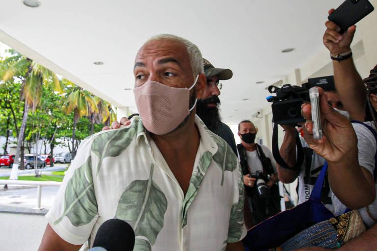 Belo é preso no Rio
