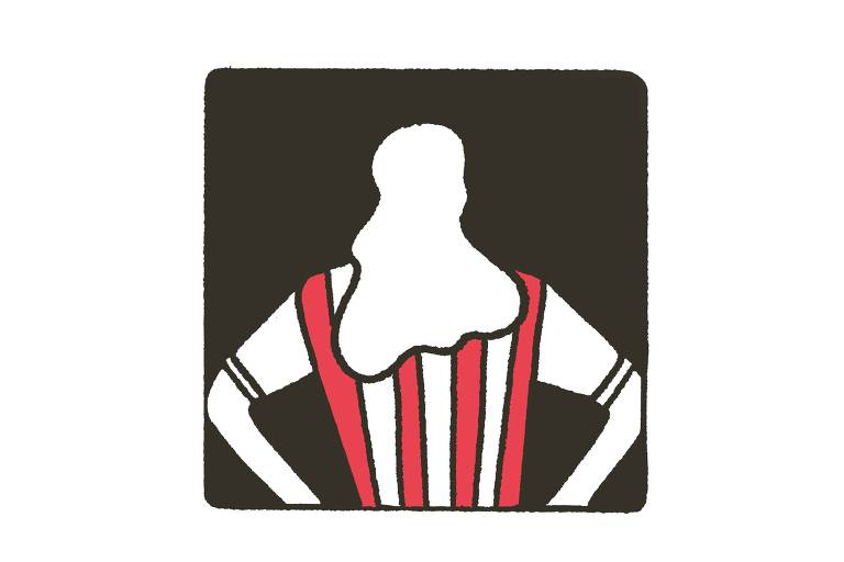 Ilustração mostra jogadora de futebol