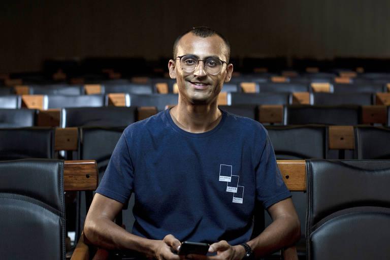 Eduardo Lyra, cofundador e CEO da ONG Gerando Falcões