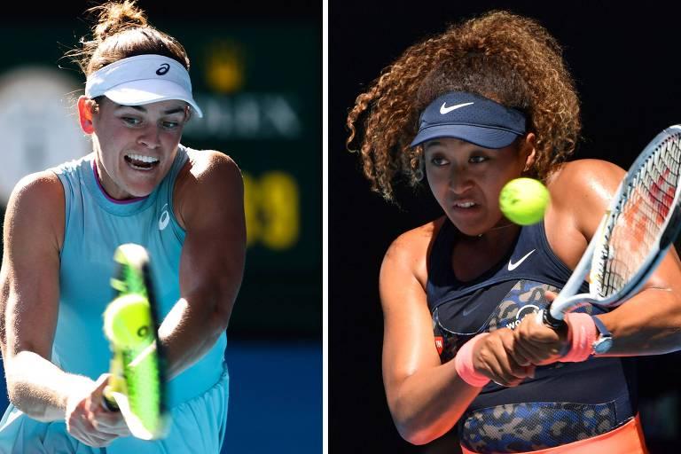 Renovada pela quarentena, Brady desafia Osaka na final do Australian Open