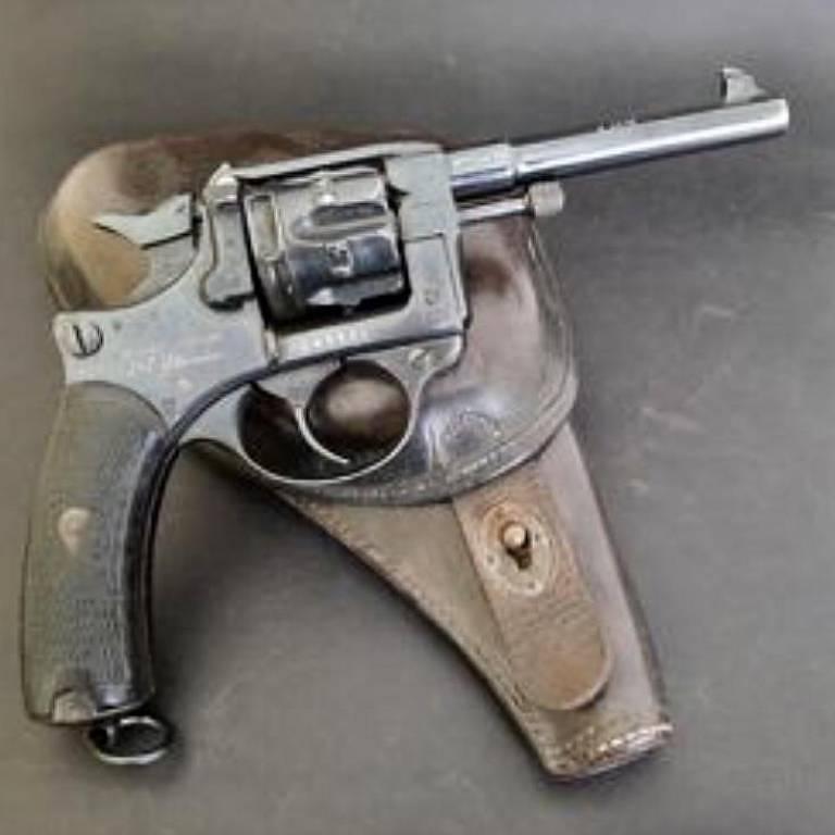 arma usada pela polícia paulista em 1921