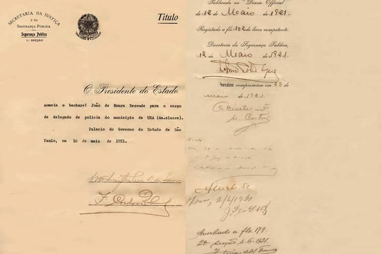 documento de nomeação de delegados
