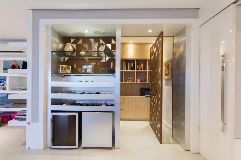 Conheça o cloffice, uso de pequenos espaços para trabalhar em casa