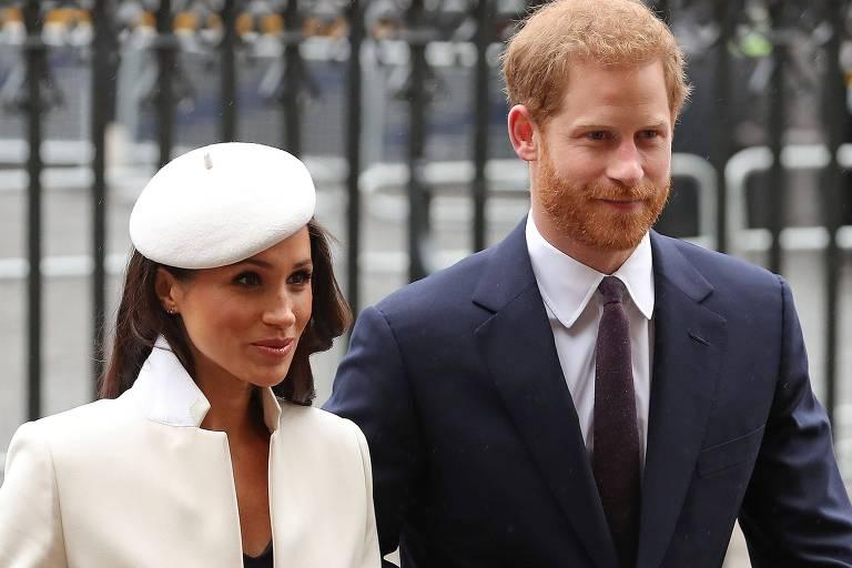 Príncipe Harry e Meghan se separam oficialmente da família real britânica