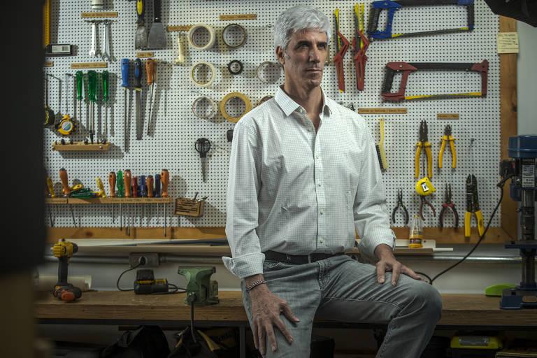 Fabio Zsigmond, fundador da escola Mundo Maker, em São Paulo