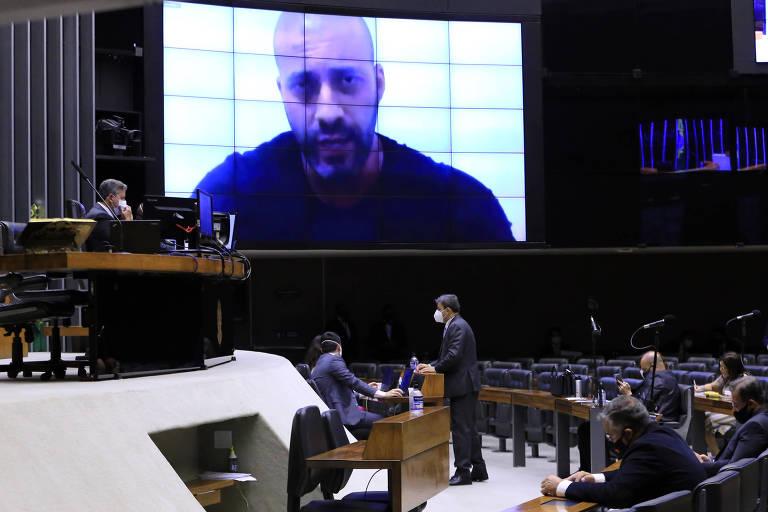 Conselho de Ética da Câmara vota a favor da suspensão por 6 meses do mandato de Daniel Silveira