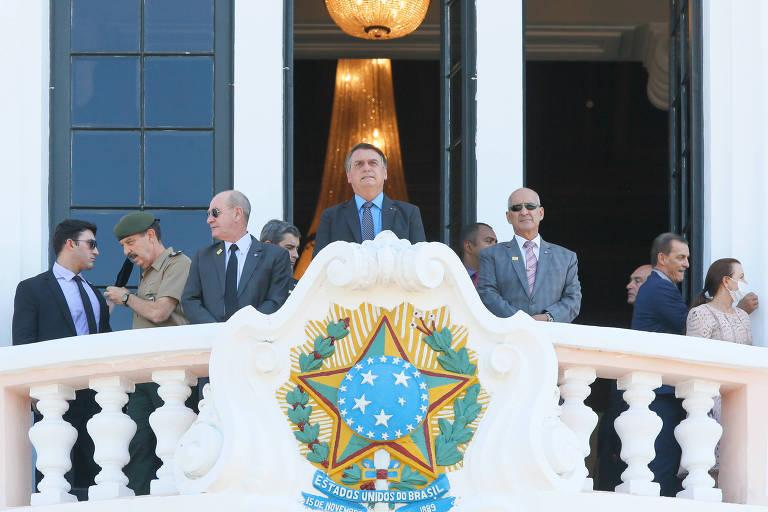 Presidente Jair Bolsonaro em Cerimônia de Entrada dos Novos Alunos pelo Portão da EsPCEx, em Campinas
