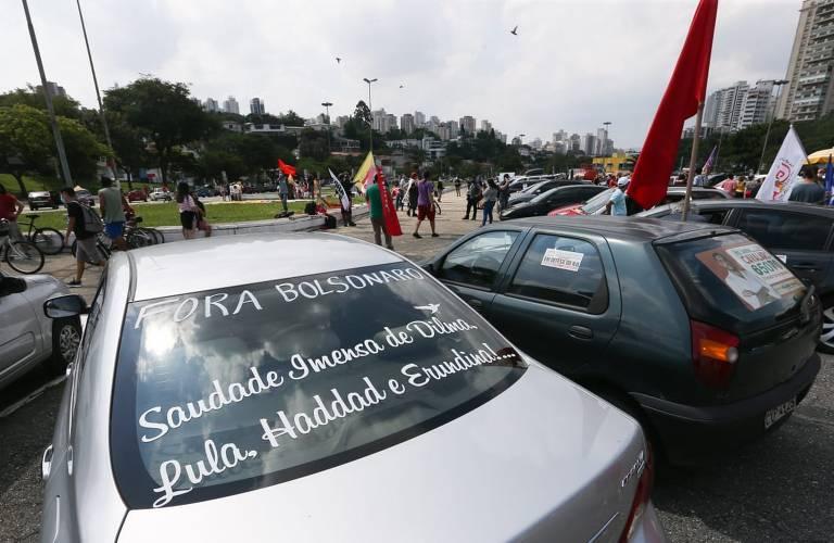 SP registra protestos pró-impeachment de Jair Bolsonaro