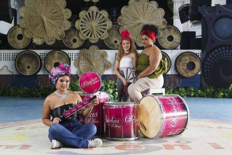 Sem Carnaval, ritmistas de escola de samba da periferia de SP ganham dias de beleza