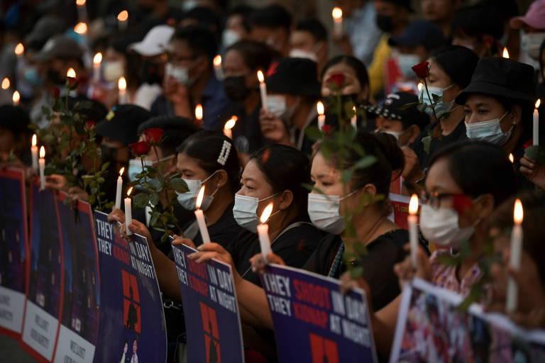 Facebook bane página do Exército em Mianmar, e milhares voltam às ruas após dia sangrento