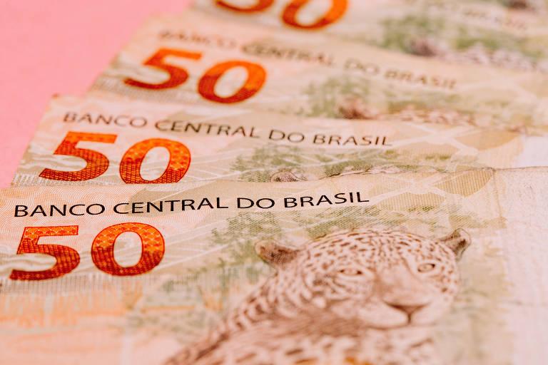 Cédulas de R$ 50