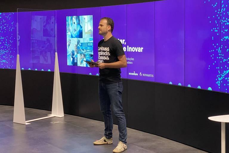 Lançamento da Novartis Biome foi anunciado durante reunião virtual