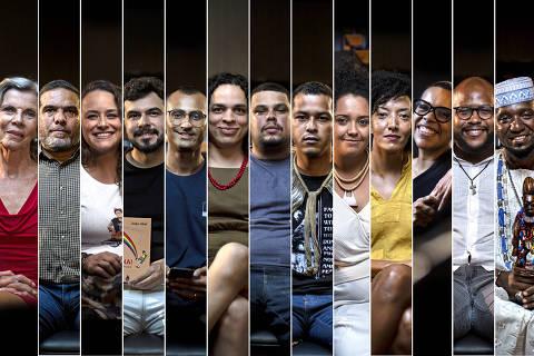 MOSAICO , MONTAGEM, Entrevistados da série E Eu?, série comemorativa de aniversário de 100 anos da Folha