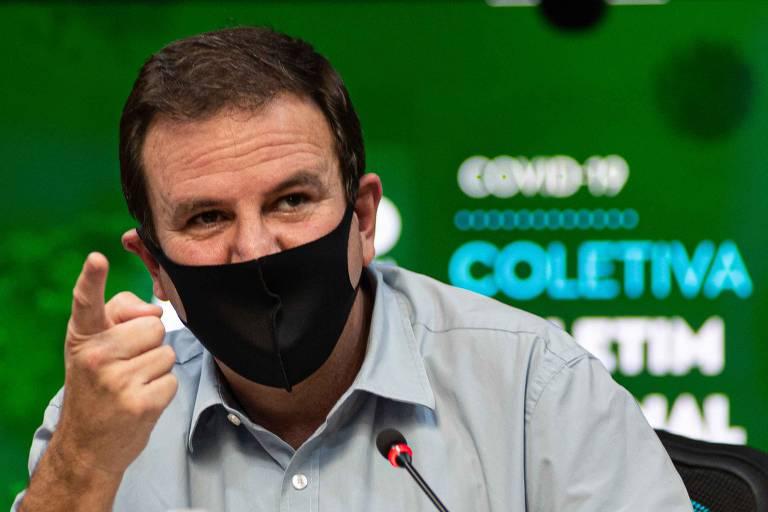 Foi um ato de heroísmo entregar Olimpíada do Rio, diz Paes