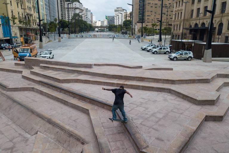 Prefeitura de São Paulo libera pista de skate no Vale do Anhangabaú