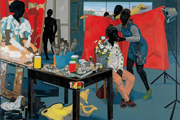 """Obra do artista Kerry James Marshall, que está no documentário """"Arte Negra"""", da HBO"""