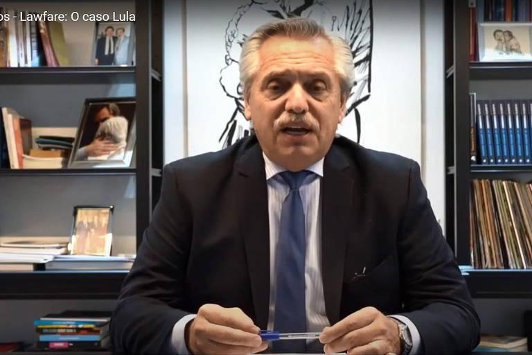 Em evento do PT, Fernández defende Lula e critica Justiça brasileira e direita