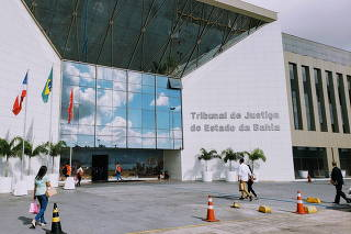 Tribunal de Justiça da Bahia O Governador de São Paulo João Doria durante lançamento do Cartã