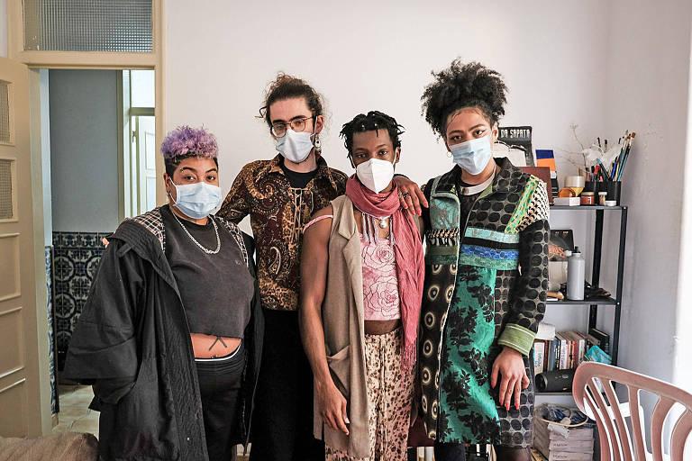 Brasileira junta dinheiro com vaquinha online e monta casa para artistas trans em Portugal