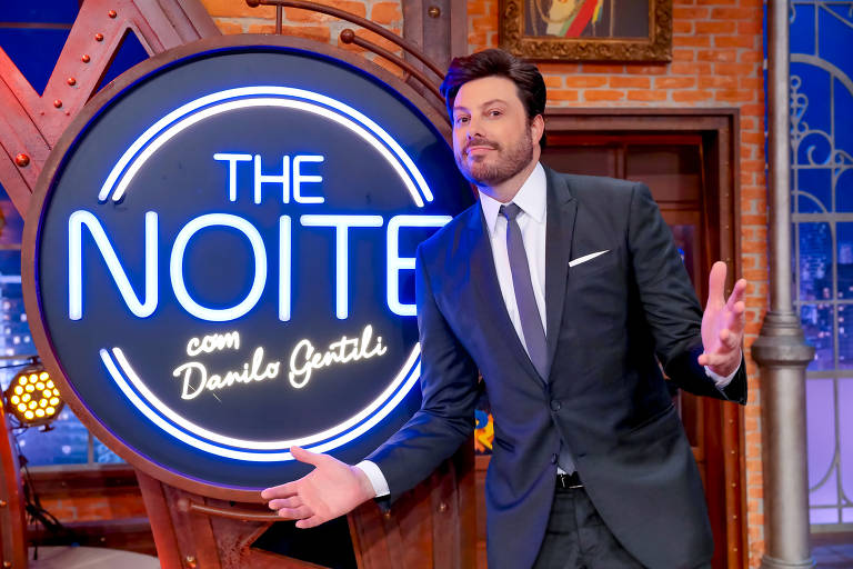 Danilo Gentili no The Noite