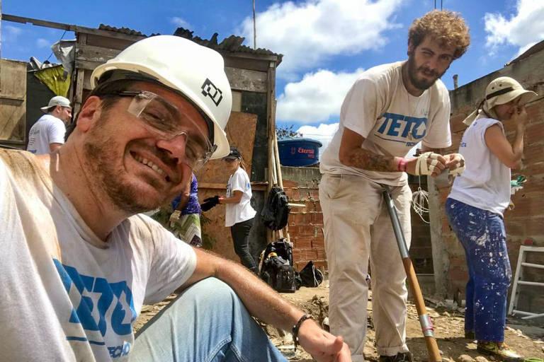 Luiz Alberto Altmann Fazio e Henrique Mazzei, fundadores da Biosaneamento