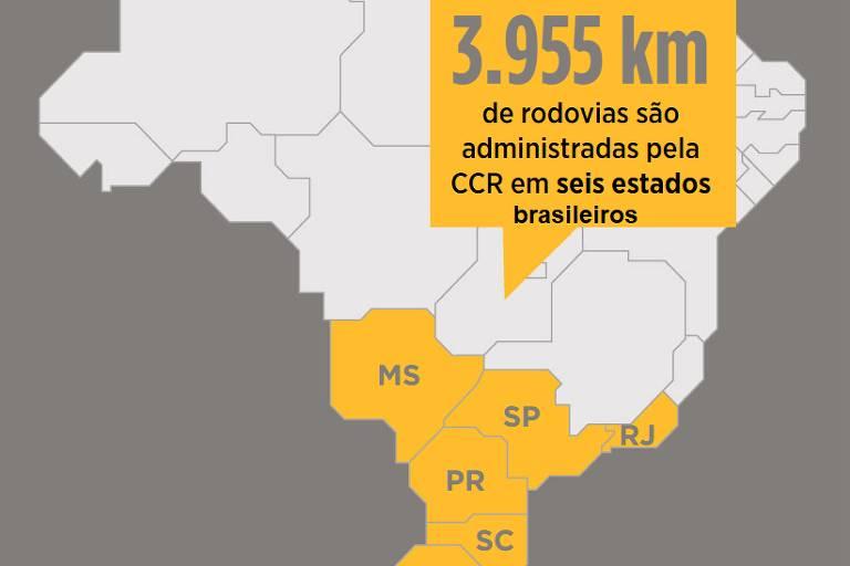 Em 10 anos, CCR reduz em 44% o índice de mortes nas estradas