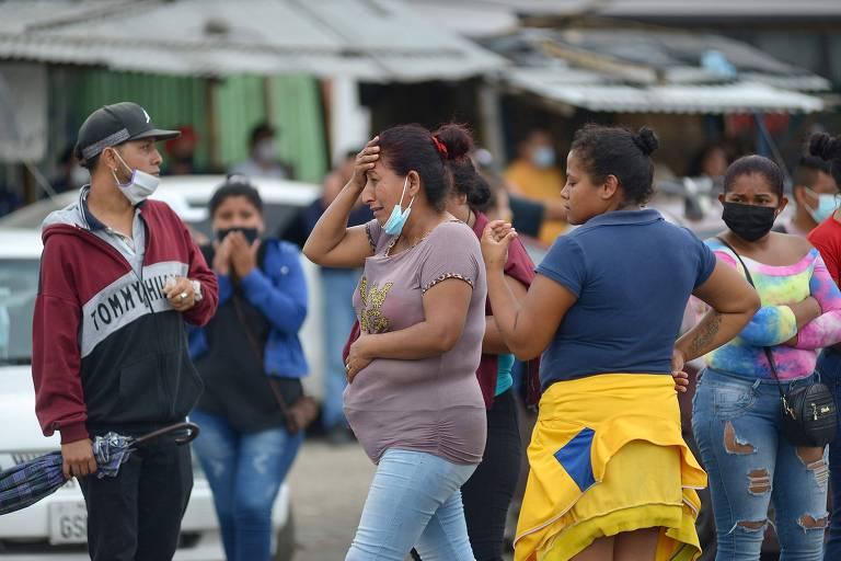 Rebeliões em três presídios no Equador deixam pelo menos 75 mortos