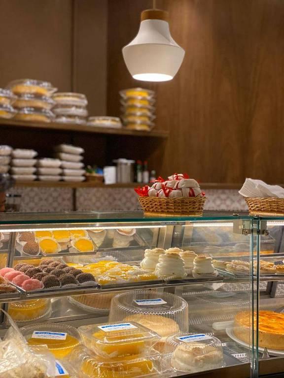 Ambiente da nova loja do Pão de Queijo da Haddock Lobo, no shopping Iguatemi