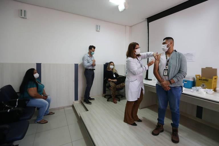 São Caetano, no ABC, já vacinou quase 10% de sua população