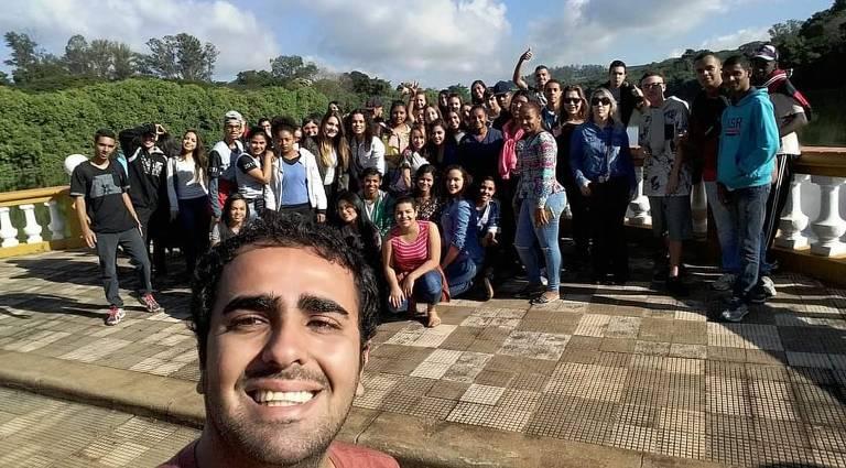 Alunos visitam universidade pública com projeto Salvaguarda