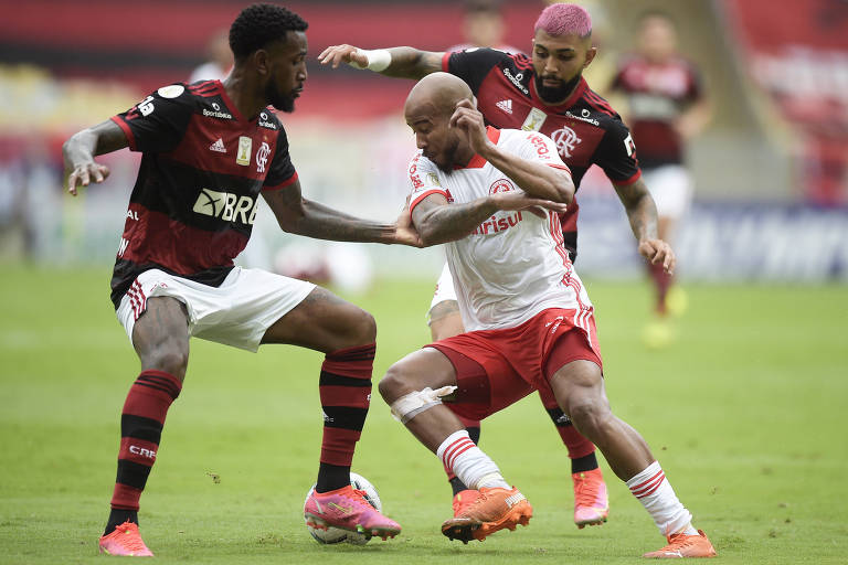 Qualquer resultado nos jogos de Flamengo e Inter será normal